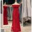 รหัส ชุดราตรี :PFL064 ชุดราตรียาวมีแขน สวยหวานหรู ราตรียาวสีแดง ผ้าไหมญี่ปุ่น ซับในซาติน สวยหรูแบบเรียบโก้ และใส่ได้หลากหลายโอกาสคร๊าา มาพร้อมซับในอย่างดี คัตติ้งเนี๊ยบๆ thumbnail 2