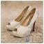 รหัส รองเท้าไปงาน : RR002 รองเท้าเจ้าสาวสีขาว พร้อมส่ง ตกแต่งมุขและกริตเตอร์ สวยสง่าดูดีแบบเจ้าหญิง ใส่เป็นรองเท้าคู่กับชุดเจ้าสาว ชุดแต่งงาน ชุดงานหมั้น หรือ ใส่เป็นรองเท้าออกงาน กลางวัน กลางคืน สวยสง่าดูดีมากคะ ราคาถูกกว่าห้างเยอะ thumbnail 1