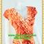 2432เสื้อผ้าคนอ้วน เสื้อผ้าแฟชั่นผ้าวาเลนติโน่สีส้มหรูมั่นใจสไตล์เรียบตีเกล็ดไขว์กลางอกยาวพาดด้านหน้าพรางรูปร่างเรียวบาง เกล็ด4ชั้นซ้ายขวาหรูมีระดับ แขนล้ำ ผูกโบเอว thumbnail 2
