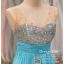 รหัส ชุดราตรี : BB028 ชุดราตรียาวผ้าชีฟองหรู เดรสออกงานประดับกริตเตอร์ ชุดไปงานแต่ง ชุดแซก ชุดเพื่อนเจ้าสาว สีฟ้า thumbnail 3