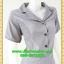 2776ชุดทํางาน เสื้อผ้าคนอ้วนชุดผ้าวูลพีซปกฮาวาย แต่งพื้นสลับลายกระโปรงย้วย สไตล์หวานเรียบร้อย thumbnail 2