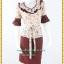 3147ชุดทํางาน เสื้อผ้าคนอ้วนผ้าเครปลายทิวลิปดอกโดดเด่นสะดุดตาแขนทรงระฆัง ระบายรอบเอว สวมใส่สบายหรูหราอลังการเลือกใส่เป็นชุดออกงานเลิศหรู thumbnail 1