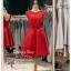 รหัส ชุดราตรีสั้น : BB057 ชุดแซก ชุดราตรี สีแดง ลูกไม้แขนกุด เรียบหรูเหมาะใส่ออกงานกลางคืน งานคอกเทล หมาะใส่ออกงานแต่งงาน งานกลางวัน กลางคืน ชุดเพื่อนเจ้าสาว thumbnail 1