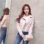 เสื้อหนังเกาหลี มี 2 สี