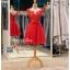 รหัส ชุดราตรีสั้น :BB046 มีชุดราตรีสวย สีแดง ชุดไปงานแต่งสั้น เหมาะใส่งานหมั้น งานเช้า หรู พร้อมส่งเยอะสุดในไทย เนื้อผ้าพรีเมี่ยม คัตติ้งเนี๊ยบๆ thumbnail 4