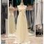 รหัส ชุดไปงานแต่งงาน :PF063 ชุดราตรียาว ไหล่เดี่ยว สีครีม ใส่แล้วสวยหรูแต่แอบเซ็กซี่เบาๆ ใส่ออกงานกลางคืน ไปงานแต่งงาน งานเลี้ยง งานรับรางวัล งานบายเนียร์ งานพรอม งานกาล่าดินเนอร์ งานเดินพรหมแดง หรือชุดเพื่อนเจ้าสาว สวยปังมาก thumbnail 1