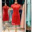 รหัส ชุดกี่เพ้า :KPS030 ชุดกี่เพ้าพร้อมส่ง มีชุดกี่เพ้าคนอ้วน แบบสั้น สีแดง คัตติ้งเป๊ะมาก ใส่ออกงาน ไปงานแต่งงาน ใส่เป็นชุดพิธีกร ชุดเพื่อนเจ้าสาว ชุดถ่ายพรีเวดดิ้ง ชุดยกน้ำชา หรือ ใส่ ชุดกี่เพ้าแต่งงาน สวยมากๆ ค่ะ thumbnail 4