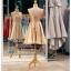รหัส ชุดราตรี : PFS052 ชุดแซก ชุดราตรีสั้นหรูสีทอง สวย สง่า ดูดีแบบเจ้าหญิง ใส่เป็นชุดงานเช้า ชุดไปงานแต่งงาน งานกาล่าดินเนอร์ งานเลี้ยง งานพรอม งานรับกระบี่ thumbnail 2