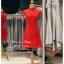 รหัส ชุดกี่เพ้า :KPS060 ชุดกี่เพ้าพร้อมส่ง มีชุดกี่เพ้าคนอ้วน แบบสั้น สีแดง คัตติ้งเป๊ะมาก ใส่ออกงาน ไปงานแต่งงาน ใส่เป็นชุดพิธีกร ชุดเพื่อนเจ้าสาว ชุดถ่ายพรีเวดดิ้ง ชุดยกน้ำชา หรือ ใส่ ชุดกี่เพ้าแต่งงาน สวยมากๆ ค่ะ thumbnail 1