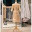 รหัส ชุดราตรีสั้น :PFS060 ชุดไปงานแต่งงานแขนยาวตกแต่งลูกไม้ ชุดราตรีสั้นผ้าไหมสีทองนสวยหรู ชุดเดรสออกงานสามารถใส่เป็นชุดไปงานแต่งงาน กาล่าดินเนอร์ ชุดไทยประยุกต์ thumbnail 3