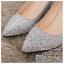 รหัส รองเท้าไปงาน : RR005 รองเท้าเจ้าสาวสีเทาเงิน พร้อมส่ง ตกแต่งกริตเตอร์ สวยสง่าดูดีแบบเจ้าหญิง ใส่เป็นรองเท้าคู่กับชุดเจ้าสาว ชุดแต่งงาน ชุดงานหมั้น หรือ ใส่เป็นรองเท้าออกงาน กลางวัน กลางคืน สวยสง่าดูดีมากคะ ราคาถูกกว่าห้างเยอะ thumbnail 2