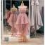รหัส ชุดราตรีสั้น : PF013 ชุดราตรียาว เดรสออกงาน ชุดไปงานแต่งงาน ชุดแซก สีชมพู หน้าสั้นหลังยาวสวยๆ หมาะสำหรับงานแต่งงาน งานกลางคืน กาล่าดินเนอร์ thumbnail 1