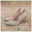รหัส รองเท้าไปงาน : RR004 รองเท้าเจ้าสาวสีเงิน พร้อมส่ง ตกแต่งกริตเตอร์ สวยสง่าดูดีแบบเจ้าหญิง ใส่เป็นรองเท้าคู่กับชุดเจ้าสาว ชุดแต่งงาน ชุดงานหมั้น หรือ ใส่เป็นรองเท้าออกงาน กลางวัน กลางคืน สวยสง่าดูดีมากคะ ราคาถูกกว่าห้างเยอะ thumbnail 1