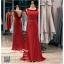 รหัส ชุดราตรียาว :PF003-1 ชุดราตรียาว เดรสออกงาน ชุดไปงานแต่งงาน ชุดแซก สีแดง ประดับไหล่เป็นดอกกุหราบ โชว์หลัง มีสายประดับสวยๆ ที่ด้านหลัง เรียบหรูมากๆ เหมาะสำหรับงานแต่งงาน งานกลางคืน กาล่าดินเนอร์ thumbnail 1
