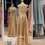รหัส ชุดราตรีราตรีคนอ้วน : PF148 ชุดราตรียาวสีทอง แขนล้ำ ผ้าลูกไม้ซีทรูหน้าหลัง กระโปรงผ้าเครปซาติน สวยแบบเจ้าหญิง ดูดีแบบนางฟ้า ใส่ออกงาน ไปงานแต่งงาน งานเลี้ยง งานประกวด งานรับรางวัล งานกาล่าดินเนอร์ งานพรอม งานบายเนียร์ งานเดินพรหมแดง ปังมาก thumbnail 2