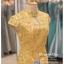รหัส ชุดกี่เพ้า : KPS001 ชุดกี่เพ้าประยุกต์ สวยๆ แบบสั้น สีทอง งานปักดิ้นทอง คัตติ้งเป๊ะมาก ใส่ออกงาน ไปงานแต่งงาน ใส่เป็นชุดพิธีกร ชุดเพื่อนเจ้าสาว ชุดถ่ายพรีเวดดิ้ง ชุดยกน้ำชา หรือ ใส่ ชุดกี่เพ้าแต่งงาน สวยมากๆ ค่ะ thumbnail 3