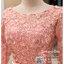 รหัส ชุดราตรี : PFL060A ชุดราตรียาวมีแขนตกแต่งด้วยลูกไม้งานสวย ชุดไปงานแต่งสีชมพพู เรียบหรู เหมาะสำหรับงานแต่งงาน งานกลางคืน กาล่าดินเนอร์ ชุดออกงาน ชุดไทยประยุกต์ thumbnail 3