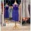 รหัส ชุดราตรี : PFS039 ชุดแซกผ้าลูกไม้งานสวยตกแต่งกริตเตอร์ ชุดราตรีสั้นหรูสีน้าเงิน สวย สง่า ดูดีแบบเจ้าหญิง ใส่เป็นชุดไปงานแต่งงาน งานกาล่าดินเนอร์ งานเลี้ยง งานพรอม งานรับกระบี่ thumbnail 2