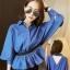 เสื้อแฟชั่นยีนส์เทียม คอปกเว้าช่วงหลังรูปตัววีเอวยางยืด สวยเก๋สไตล์เกาหลี-1540 thumbnail 1