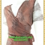 2927ชุดเดรสออกงาน ชุดราตรี เสื้อผ้าคนอ้วนสีโค้กลูกไม้คอวีป้ายแขนโปร่ง สไตล์เซ็กซี่สวมใส่ออกงานหรูหรา thumbnail 3