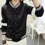 เสื้อคลุมแฟชั่น ใส่่ได้ทุกฤดูสวยเท่ห์สไตล์เกาหลี-1560-สีดำ thumbnail 1