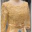 รหัส ชุดราตรี : PFS047 ชุดแซกมีแขน ชุดราตรีสั้นหรูสีทอง สวย สง่า ดูดีแบบเจ้าหญิง ใส่เป็นชุดงานเช้า ชุดไปงานแต่งงาน งานกาล่าดินเนอร์ งานเลี้ยง งานพรอม งานรับกระบี่ thumbnail 3