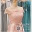 รหัส ชุดราตรี :PF092 ชุดแซก ชุดราตรีสั้น หรู สีชมพู ไหล่ปาด สวย สง่า ดูดีแบบเจ้าหญิง ใส่ไปงานแต่งงาน งานกาล่าดินเนอร์ งานเลี้ยง งานพรอม งานรับกระบี่ thumbnail 3