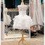 รหัส ชุดราตรีสั้น :BB135 มีชุดราตรีสวย สีขาว สั้น เหมาะใส่งานหมั้น งานเช้า หรู พร้อมส่งเยอะสุดในไทย เนื้อผ้าพรีเมี่ยม คัตติ้งเนี๊ยบๆ แขนกุด thumbnail 2