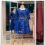 รหัส ชุดราตรี :AK127 ชุดแซกผ้าลูกไม้งานสวย ชุดราตรีสั้นหรูสีน้ำเงินมาพร้อมเข็มขัด สวย สง่า ดูดีแบบเจ้าหญิง ใส่ไปงานแต่งงาน งานกาล่าดินเนอร์ งานเลี้ยง งานพรอม งานรับกระบี่ thumbnail 1