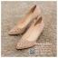 รหัส รองเท้าไปงาน : RR006 รองเท้าเจ้าสาวสีทอง พร้อมส่ง ตกแต่งกริตเตอร์ สวยสง่าดูดีแบบเจ้าหญิง ใส่เป็นรองเท้าคู่กับชุดเจ้าสาว ชุดแต่งงาน ชุดงานหมั้น หรือ ใส่เป็นรองเท้าออกงาน กลางวัน กลางคืน สวยสง่าดูดีมากคะ ราคาถูกกว่าห้างเยอะ thumbnail 1