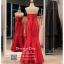 รหัส ชุดไปงานแต่งงาน : PFL026 ชุดราตรียาว สีแดง ผ้าไหม เกาะอกปักคริสตอล กระโปรงหางปลา สวยหรูสง่ามาก ใส่ไปงานแต่งงานกลางคืน งานกาล่าดินเนอร์ ชุดงานเลี้ยง ชุดพิธีกร งานพรอม งานบายเนียร์ งานเดินพรหมแดง ถ่ายพรีเวดดิ้ง thumbnail 2