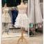 รหัส ชุดราตรีสั้น : BB113 ชุดแซก ชุดราตรี เกาะอก สีขาว เหมาะใส่งานแต่งงาน งานหมั้น งานกลางวัน กลางคืน ชุดถ่ายพรีเวดดิ้งใส่ถ่ายพรีเวดดิ้งแนวเจ้าหญิง thumbnail 2