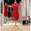 รหัส ชุดกี่เพ้า :KPS048 ชุดกี่เพ้าพร้อมส่ง มีชุดกี่เพ้าคนอ้วน แบบสั้น สีแดง คัตติ้งเป๊ะมาก ใส่ออกงาน ไปงานแต่งงาน ใส่เป็นชุดพิธีกร ชุดเพื่อนเจ้าสาว ชุดถ่ายพรีเวดดิ้ง ชุดยกน้ำชา หรือ ใส่ ชุดกี่เพ้าแต่งงาน สวยมากๆ ค่ะ thumbnail 4