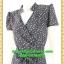 2651ชุดเสื้อผ้าคนอ้วน ชุดทำงานลายดอกสไตล์เปรี้ยวหรูไฮโซชุดคอจีนป้ายสำเร็จเก็บทรงเนี๊ยบสุด thumbnail 3