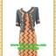 2603เสื้อผ้าคนอ้วน เสื้อผ้าแฟชั่นคอกลมตัวในมีตัวนอกคลุมทับลายกราฟฟิคสไตล์หวานเรียบร้อยสุภาพเป็นทางการ thumbnail 1