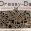 กระเป๋าออกงาน TE034: กระเป๋าออกงานพร้อมส่ง สีดำปักด้ายทองใบใหญ่ สวยเรียบหรู ราคาถูกกว่าห้าง ถือออกงาน หรือ สะพายออกงาน สวยเหมือนดารา thumbnail 1