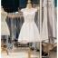 รหัส ชุดราตรีสั้น :BB133 มีชุดราตรีสวย สีขาว สั้น เหมาะใส่งานหมั้น งานเช้า หรู พร้อมส่งเยอะสุดในไทย เนื้อผ้าพรีเมี่ยม คัตติ้งเนี๊ยบๆ ไหล่ปาด thumbnail 1