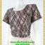 2831เสื้อผ้าคนอ้วน ชุดทํางานคอกลมเข้ารูปสไตล์workingเบรคอกด้วยลายลูกไม้ที่ปรับสรีระและเพิ่มความมั่นใจ ภูมิฐาน น่าเชื่อถือ thumbnail 3