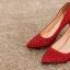รหัส รองเท้าไปงาน : RR005 รองเท้าเจ้าสาวสีเเดง พร้อมส่ง ตกแต่งกริตเตอร์ สวยสง่าดูดีแบบเจ้าหญิง ใส่เป็นรองเท้าคู่กับชุดเจ้าสาว ชุดแต่งงาน ชุดงานหมั้น หรือ ใส่เป็นรองเท้าออกงาน กลางวัน กลางคืน สวยสง่าดูดีมากคะ ราคาถูกกว่าห้างเยอะ thumbnail 4