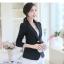 เสื้อสูทผู้หญิงใส่ทำงานไหล่ตุ๊กตาเข้ารูป สไตล์เรียบหรู-1632-(มี 5 ไซส์ S/M/L/XL/XXL) thumbnail 2