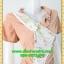 2791เสื้อผ้าคนอ้วน ชุดเดรสทำงานสีไข่ไก่แต่งลายด้านหน้า ปกจีบคล้องห่วงเพชรสไตล์เนี๊ยบหรู thumbnail 2