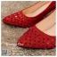 รหัส รองเท้าไปงาน : RR005 รองเท้าเจ้าสาวสีเเดง พร้อมส่ง ตกแต่งกริตเตอร์ สวยสง่าดูดีแบบเจ้าหญิง ใส่เป็นรองเท้าคู่กับชุดเจ้าสาว ชุดแต่งงาน ชุดงานหมั้น หรือ ใส่เป็นรองเท้าออกงาน กลางวัน กลางคืน สวยสง่าดูดีมากคะ ราคาถูกกว่าห้างเยอะ thumbnail 3