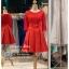 รหัส ชุดราตรีสั้น : BB066 ชุดแซก ชุดราตรี มีแขน สีแดง เหมาะใส่งานแต่งงาน สวย สง่า ดูดีแบบเจ้าหญิง ใส่เป็นชุดงานเช้า ชุดไปงานแต่งงาน งานกาล่าดินเนอร์ งานเลี้ยง งานพรอม งานรับกระบี่ thumbnail 1