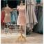 รหัส ชุดราตรีสั้น :PF140-4 ชุดราตรีสั้นผ้าซาติน เดรสออกงานไหลเฉียง ชุดไปงานแต่งงานสีชมพู ชุดแซกงานสวยมาก แบบประดับโบว์เพิ่มความน่ารัก thumbnail 1