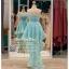 รหัส ชุดราตรีสั้น : PF013-3 ชุดราตรียาว เดรสออกงาน ชุดไปงานแต่งงาน ชุดแซก สีฟ้า หน้าสั้นหลังยาวสวยๆ หมาะสำหรับงานแต่งงาน งานกลางคืน กาล่าดินเนอร์ thumbnail 2