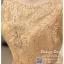 รหัส ชุดราตรี :PFS053A ชุดแซกผ้าลูกไม้งานสวยตกแต่งลูกไม้กริตเตอร์ ชุดราตรีสั้นหรูสีทอง สวย สง่า ดูดีแบบเจ้าหญิง ใส่เป็นชุดไปงานแต่งงาน งานกาล่าดินเนอร์ งานเลี้ยง งานพรอม งานรับกระบี่ thumbnail 3