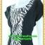 2560ชุดทํางาน เสื้อผ้าคนอ้วนคอกลมดอกตัดต่อพิ้นช่วงข้างลำตัวปรับสรีระให้บางและพรางรูปร่างเทรนด์คลาสสิคสีดำมีซับใน thumbnail 3