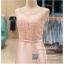 รหัส ชุดราตรี :PFS039 ชุดแซกผ้าลูกไม้งานสวยตกแต่งกริตเตอร์ ชุดราตรีสั้นหรูสีชมพู สวย สง่า ดูดีแบบเจ้าหญิง ใส่เป็นชุดไปงานแต่งงาน งานกาล่าดินเนอร์ งานเลี้ยง งานพรอม งานรับกระบี่ thumbnail 3