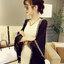 ผ้าคลุมไหล่แฟชั่นชายเสื้อแต่งพู่ สวย เก๋ สไตลเกาหลี-1541-สีดำ thumbnail 1
