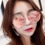 แว่นตาแฟชั่นกันแดด ทรง 8 เหลี่ยมกรอบกลมสไตล์เกาหลี รหัส G002 thumbnail 1